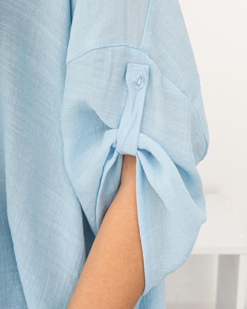Блузка однотонна 50 - 56, колір: - 6