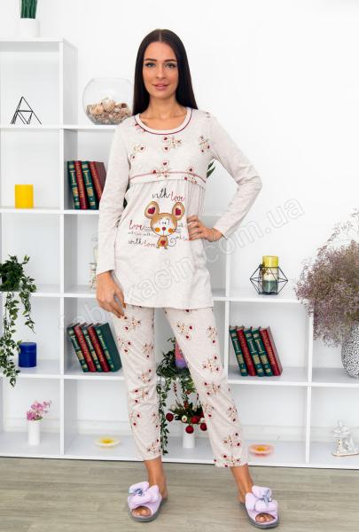 Кофта со штанами Мышонок р-р: 44 - 50  цвет: серый