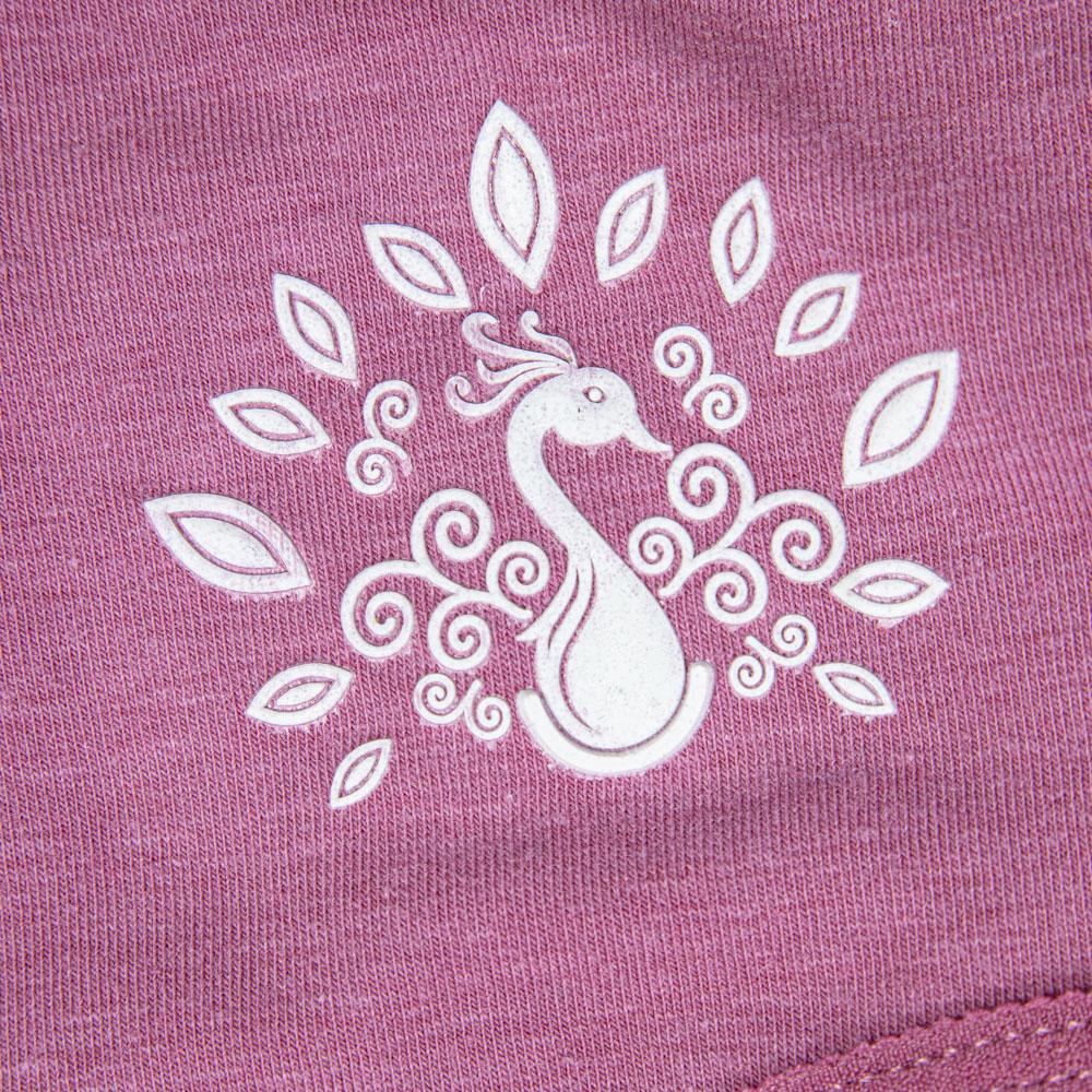 Трусики батал рисунок: павлин 50 - 56, цвет: лиловый - 2