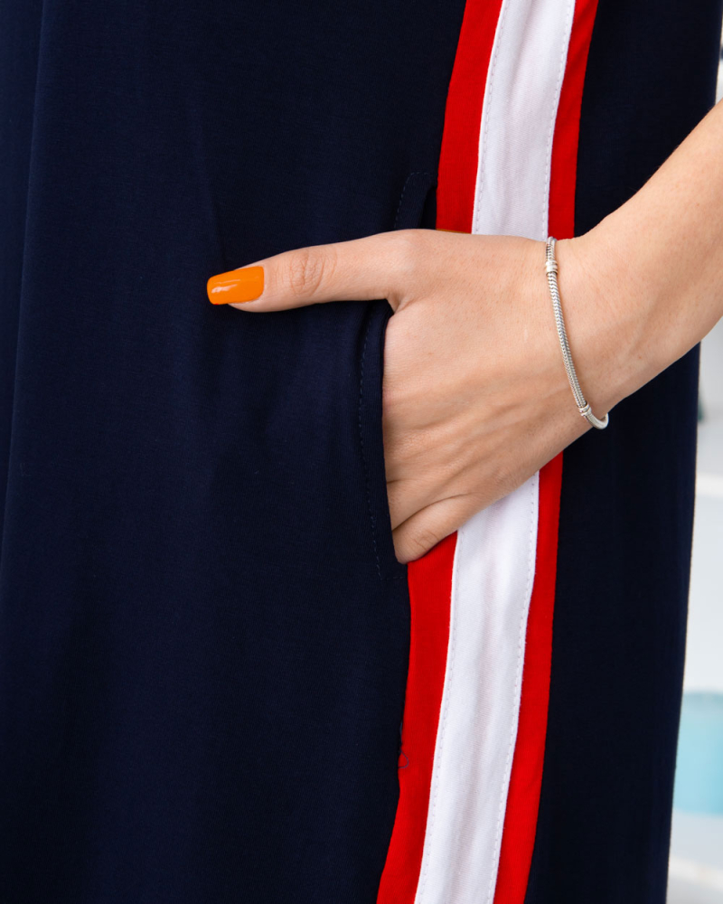 Сукня T326 Milana BEAUTY 48-58, колір: синій - 4