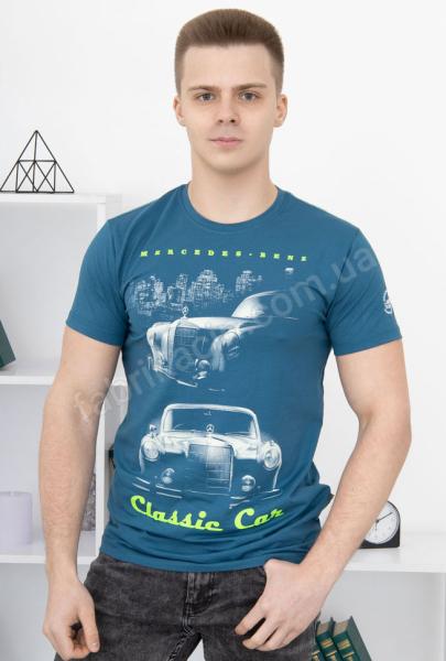 Футболка Рєтромир Classic Car 44 - 54 колір: синій