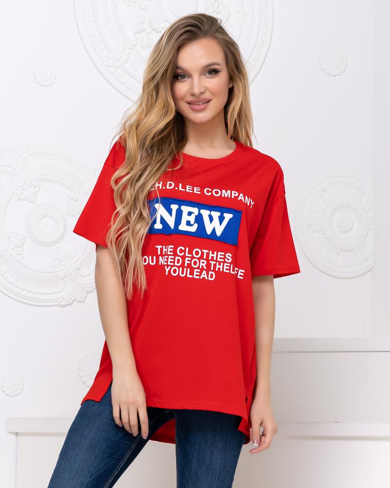 Футболка 921108 NEW F(р), цвет: красный - 2