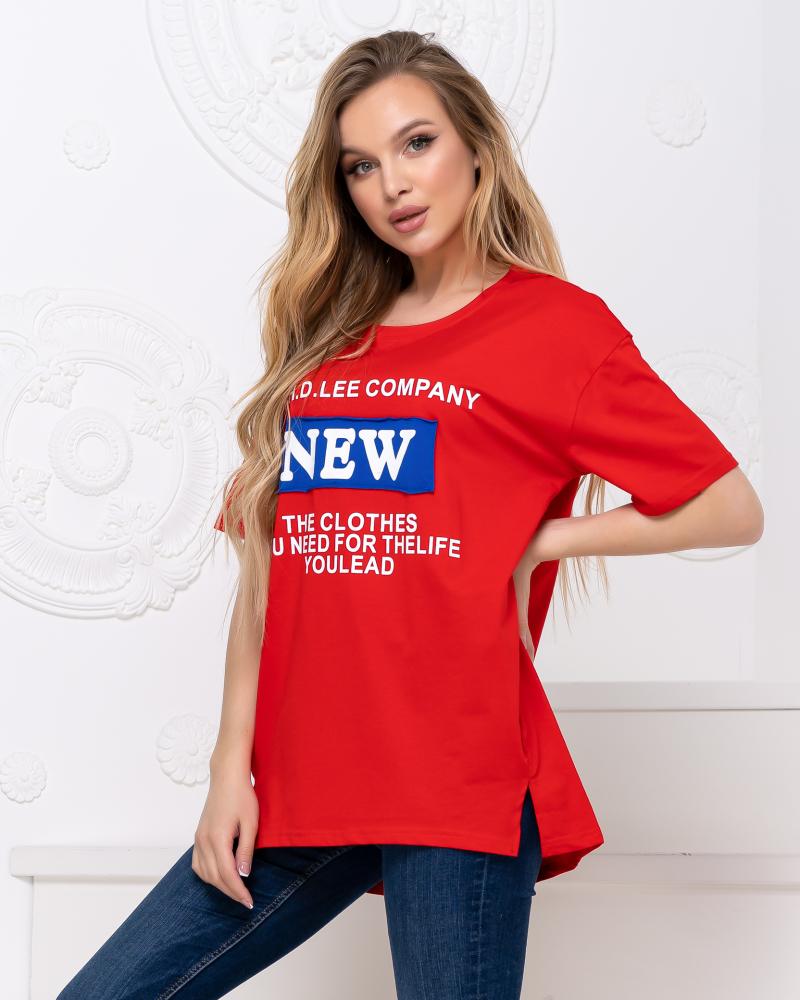 Футболка 921108 NEW F(р), цвет: красный - 4