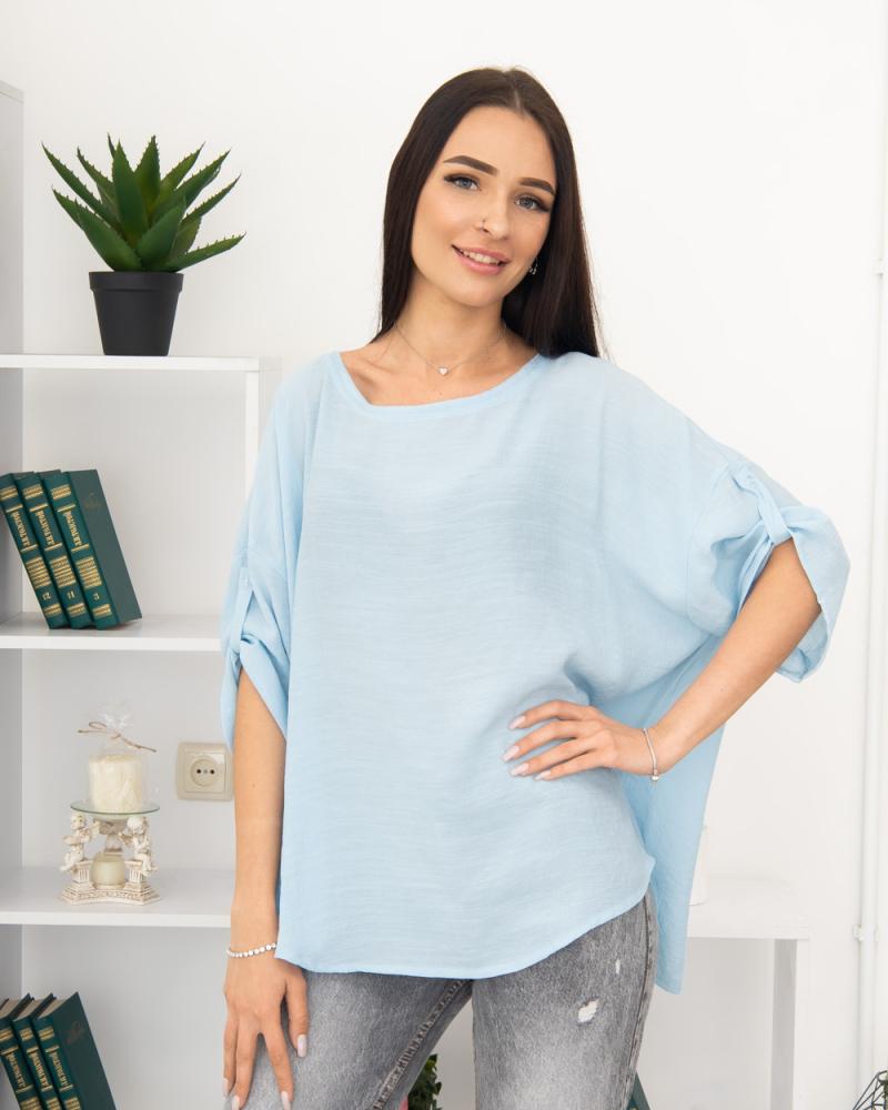 Блузка однотонна 50 - 56, колір: - 2